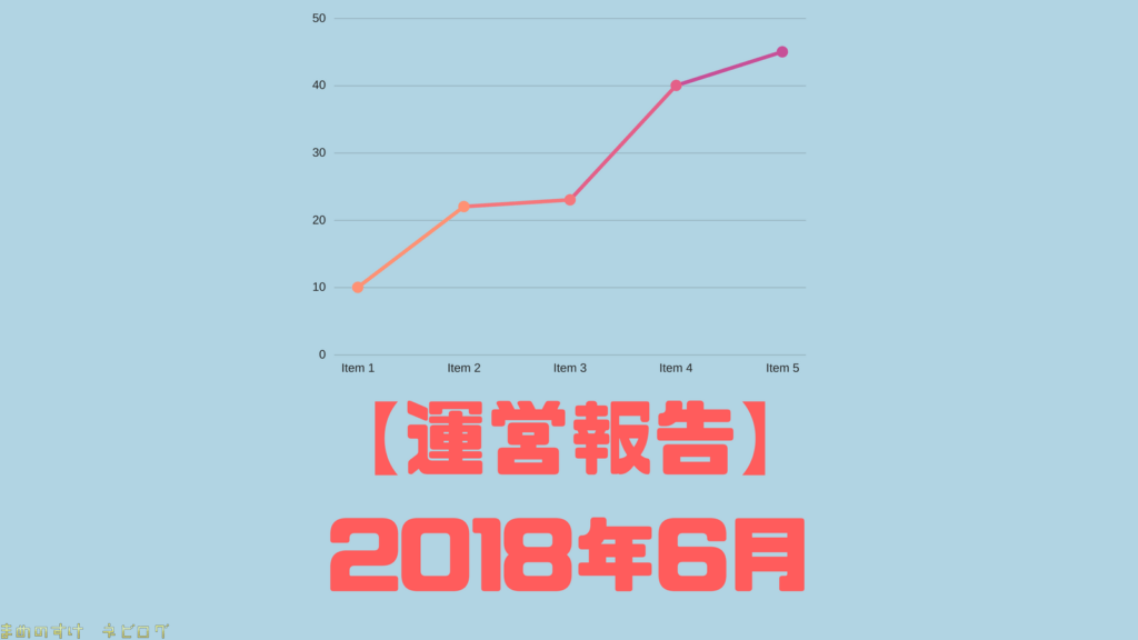 運営報告 2018年6月