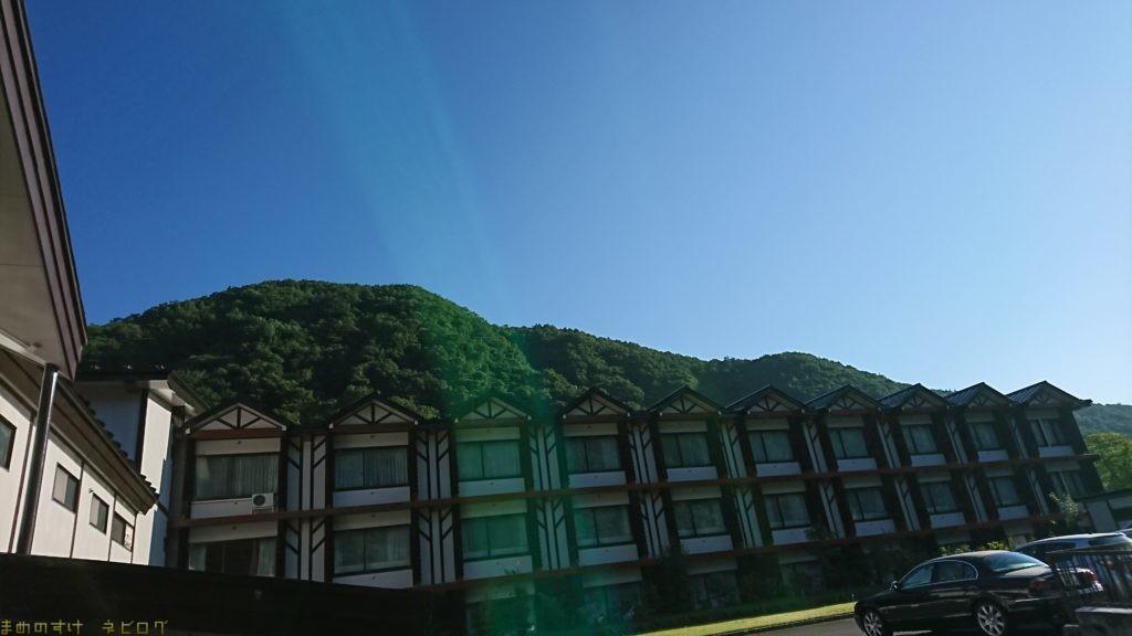 緑の中にある癒しのホテル