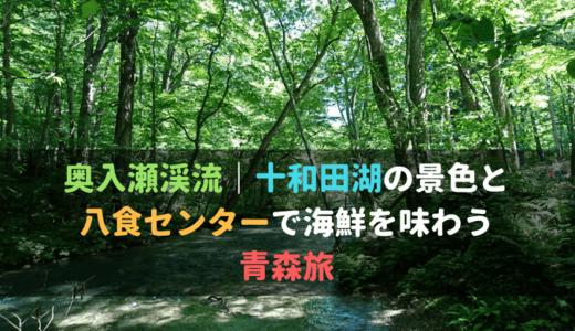 奥入瀬渓流、十和田湖の景色と八食センターで海鮮を味わう青森旅