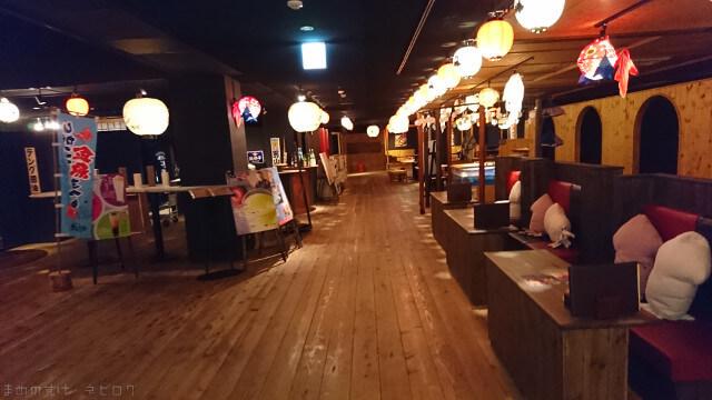 青森屋 館内1階の飲食店